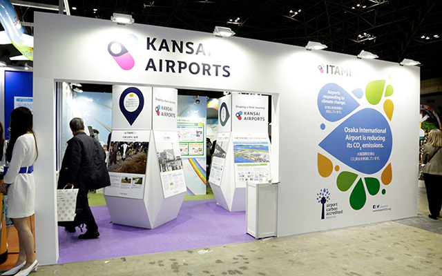 Kansai Airport booth / EcoPro 2017